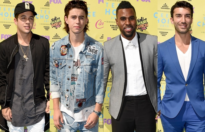 Os mais estilosos do Teen Choice Awards 2015