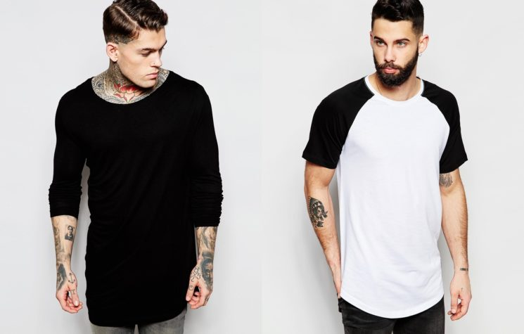 Longline: as famosas camisetas mais longas