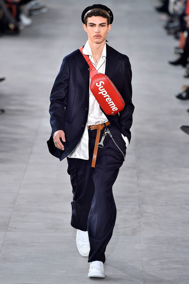 Paris: LOUIS VUITTON Inverno 2017 masculino