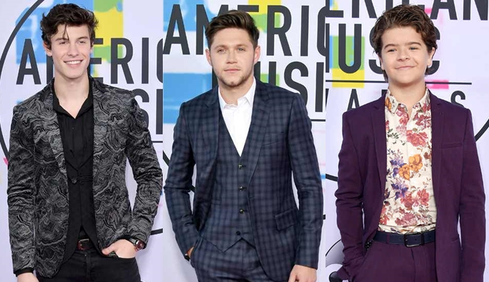 Os looks masculinos do AMAs 2017